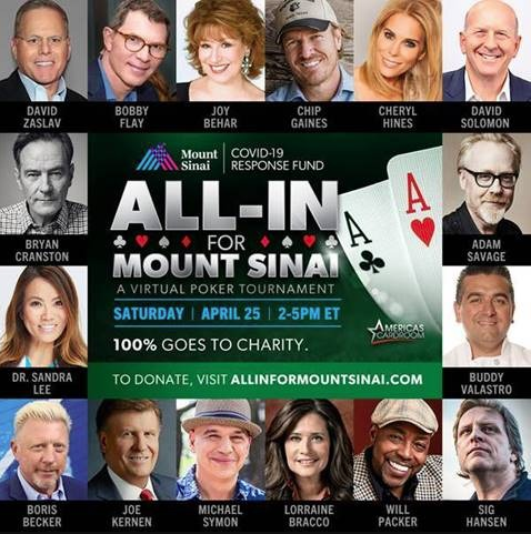 All-In For Mount Sinai Virtual Poker Tournament