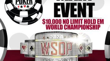 2020 WSOP Main Event