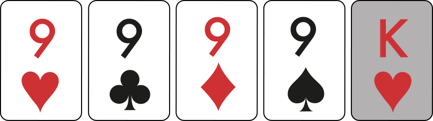 Four of a Kind example