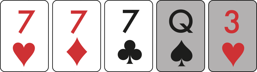Three of a Kind example