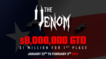 How to play in the WPN $8 Million Guaranteed Venom
