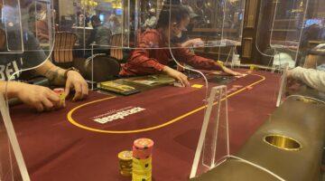 plexiglass dividers poker rooms