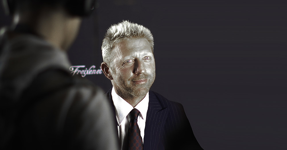 Boris Becker poker