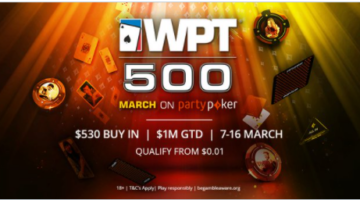 How to play the WPT500 Online Festival by partypoker
