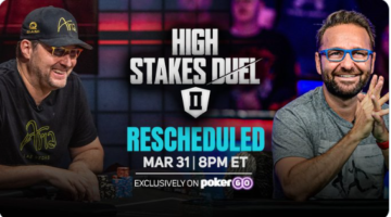 """High Stakes Duel II postponed due to """"non-player COVID concern"""""""