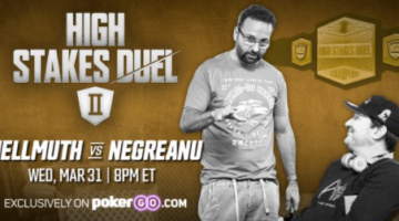 High Stakes Duel II: Negreanu vs. Hellmuth finally arrives tonight