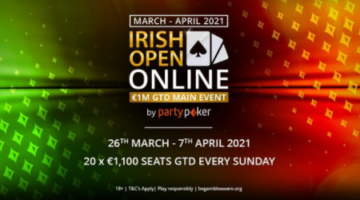 How to play the 2021 Irish Poker Open at partypoker