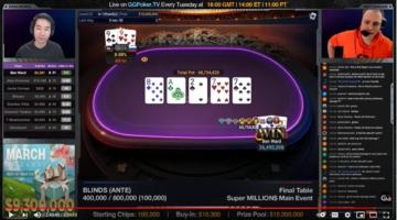Ben Ward walks away with biggest-ever Super MILLION$ prize