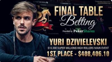 Yuri Dzivielevski earns first Super MILLION$ title