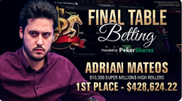 Adrian Mateos earns first Super MILLION$ title