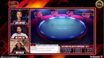 Vanessa Kade wins the PokerStars Sunday Million 15th Anniversary event