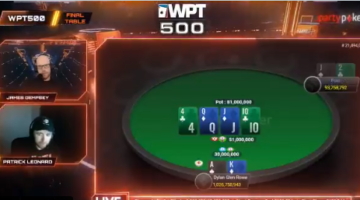 Did the WPT500 $1 Million Guaranteed event meet expectations?