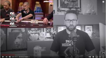 Daniel Negreanu debuts Old School vs. New School Poker Analysis series