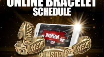 WSOP releases schedule for 2021 Online Bracelet Events
