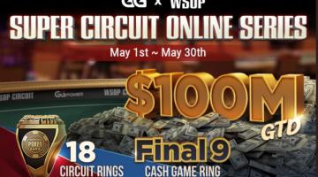 GGPoker WSOP Super Circuit Online Series kicks off Saturday