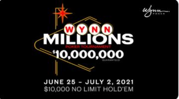 Wynn Las Vegas announces $10 million guaranteed live tournament