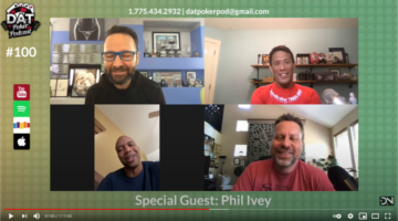 Phil Ivey makes a rare interview appearance on the Dat Poker podcast