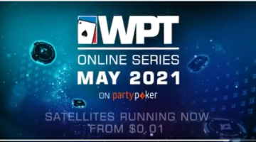 WPT Online Series on partypoker announced for May 14-June 2