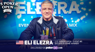 Eli Elezra takes down U.S. Poker Open $10,000 8-Game