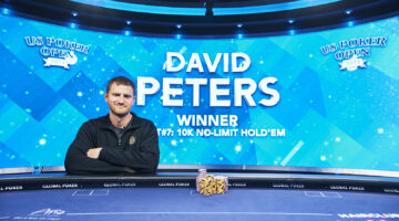David Peters takes U.S. Poker Open Event #7 for $217,800