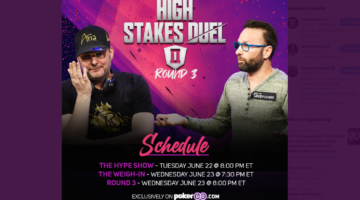 Hellmuth vs. Negreanu: High Stakes Duel rematch set for Wednesday night
