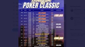 Houston Poker Classic: Next big Texas poker series hits Prime Social in August