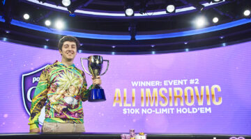 Ali Imsirovic continues dominant 2021 with another PokerGO Tour win