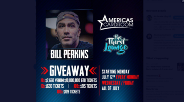 ACR Show giving away 10 tickets to the $10 Million Guaranteed Venom
