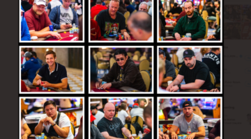Ari Oxman tops the WPT Venetian Main Event field going into Day 3