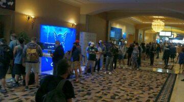 WSOP 2021 Reunion Day 1C crowds