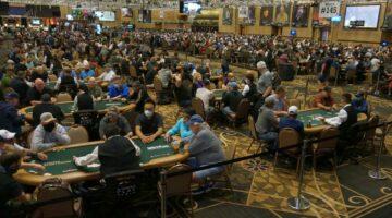 2021 WSOP Pavilion Room